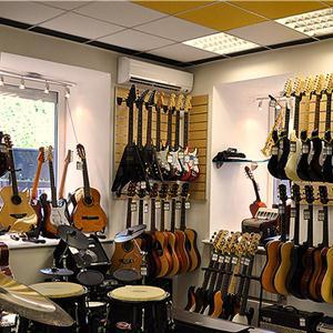 Музыкальные магазины Анны
